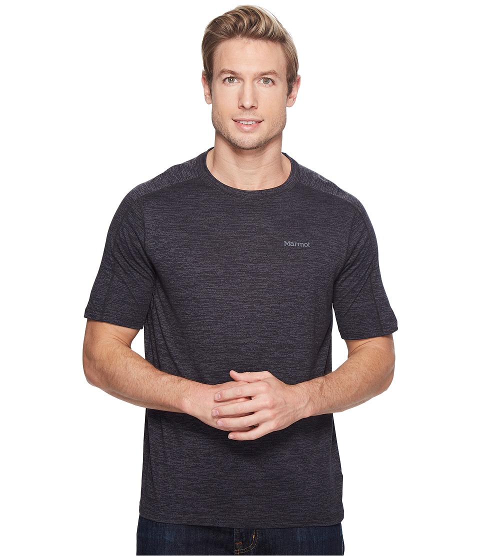 Marmot - Ridgeline Short Sleeve (Slate Grey Heather) Men's T Shirt