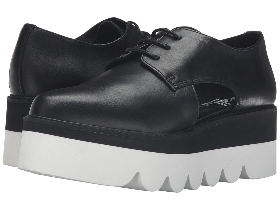 Shellys London - Charlie (Black) Women's Lace up casual Shoes