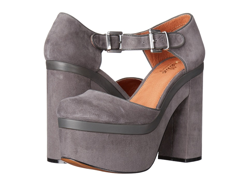 Shellys London Fulham (Grey) High Heels