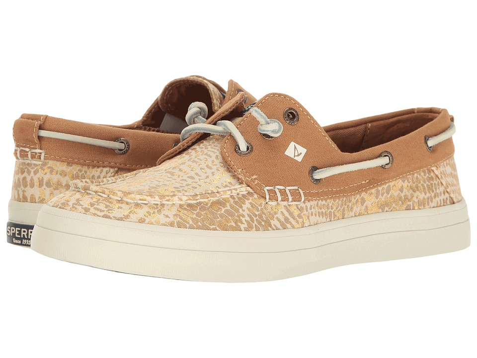Sperry Crest Resort Python (Linen/Gold) Women