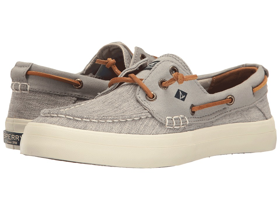Sperry Crest Resort Canvas Two-Tone (Ivory/Grey) Women