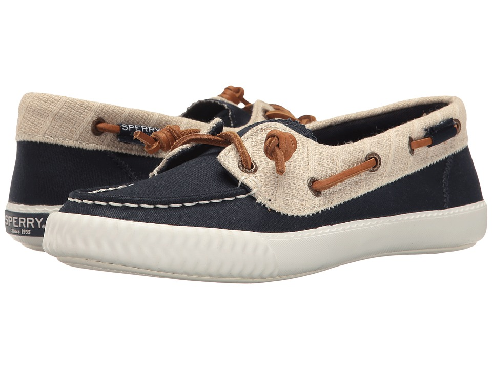 Sperry - Sayel Away Canvas (Navy/Off-White) Women's Lace up casual Shoes