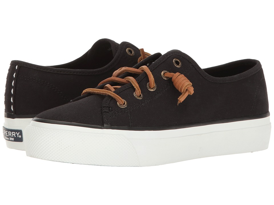 Sperry - Sky Sail Canvas (Black) Women's Lace up casual Shoes