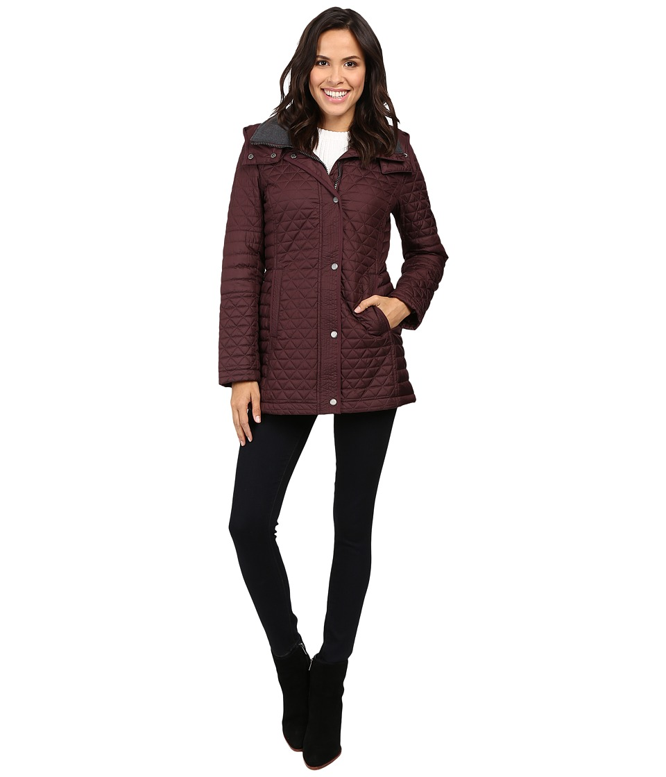 Marc New York by Andrew Marc - Alexa 30 Polyfill Quilt Parka (Burgundy) Women's Coat
