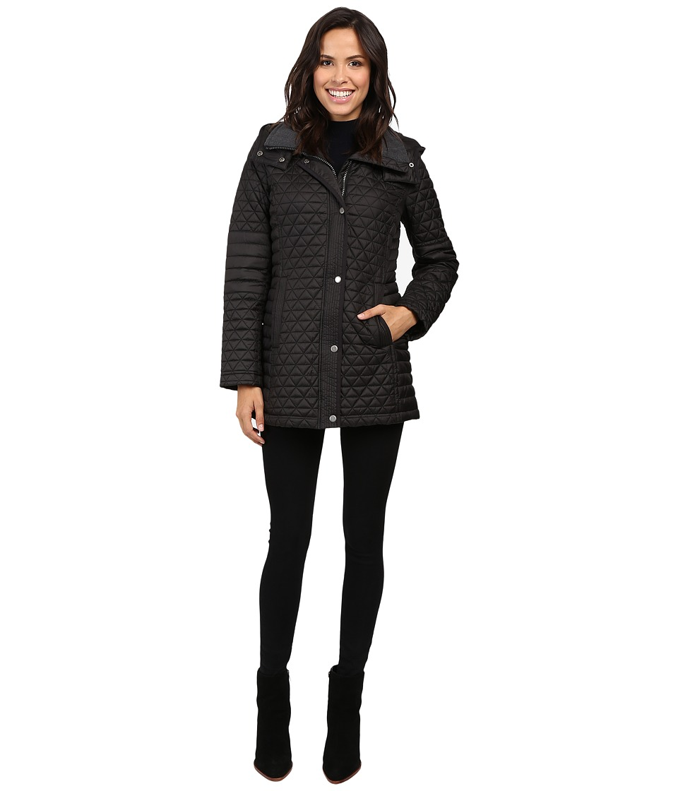 Marc New York by Andrew Marc - Alexa 30 Polyfill Quilt Parka (Black) Women's Coat