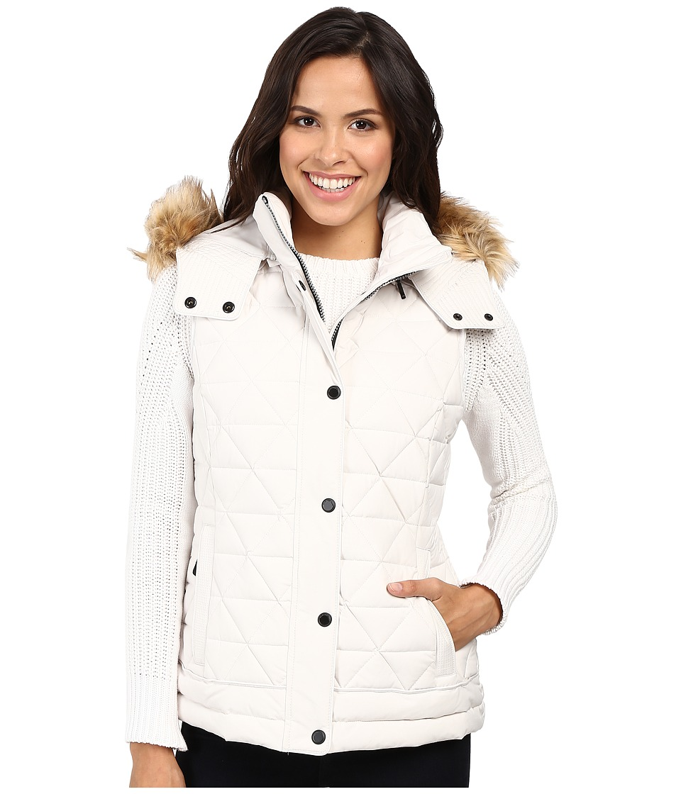 Marc New York by Andrew Marc - Thea 25 Pyramid Puffer Vest (Snow) Women's Coat