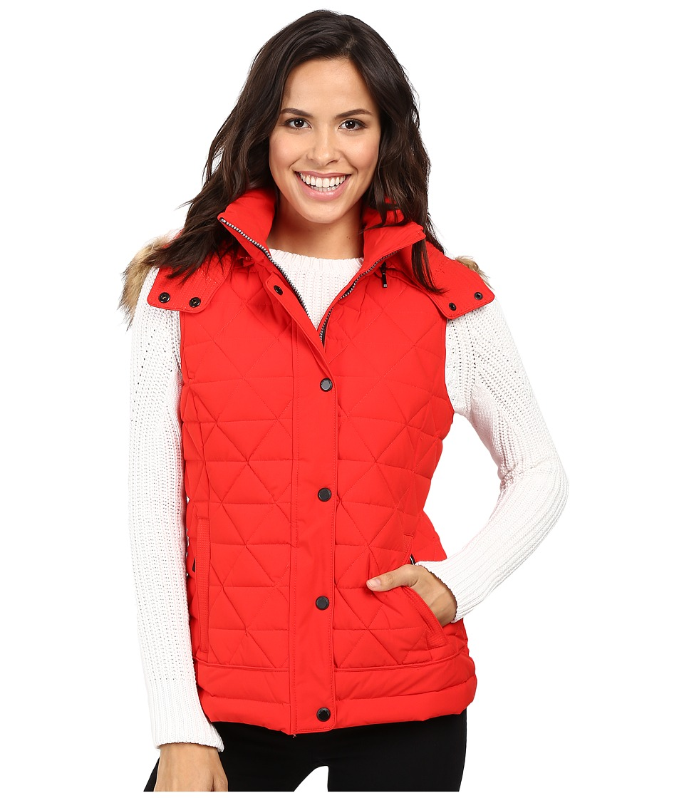 Marc New York by Andrew Marc - Thea 25 Pyramid Puffer Vest (Red) Women's Coat