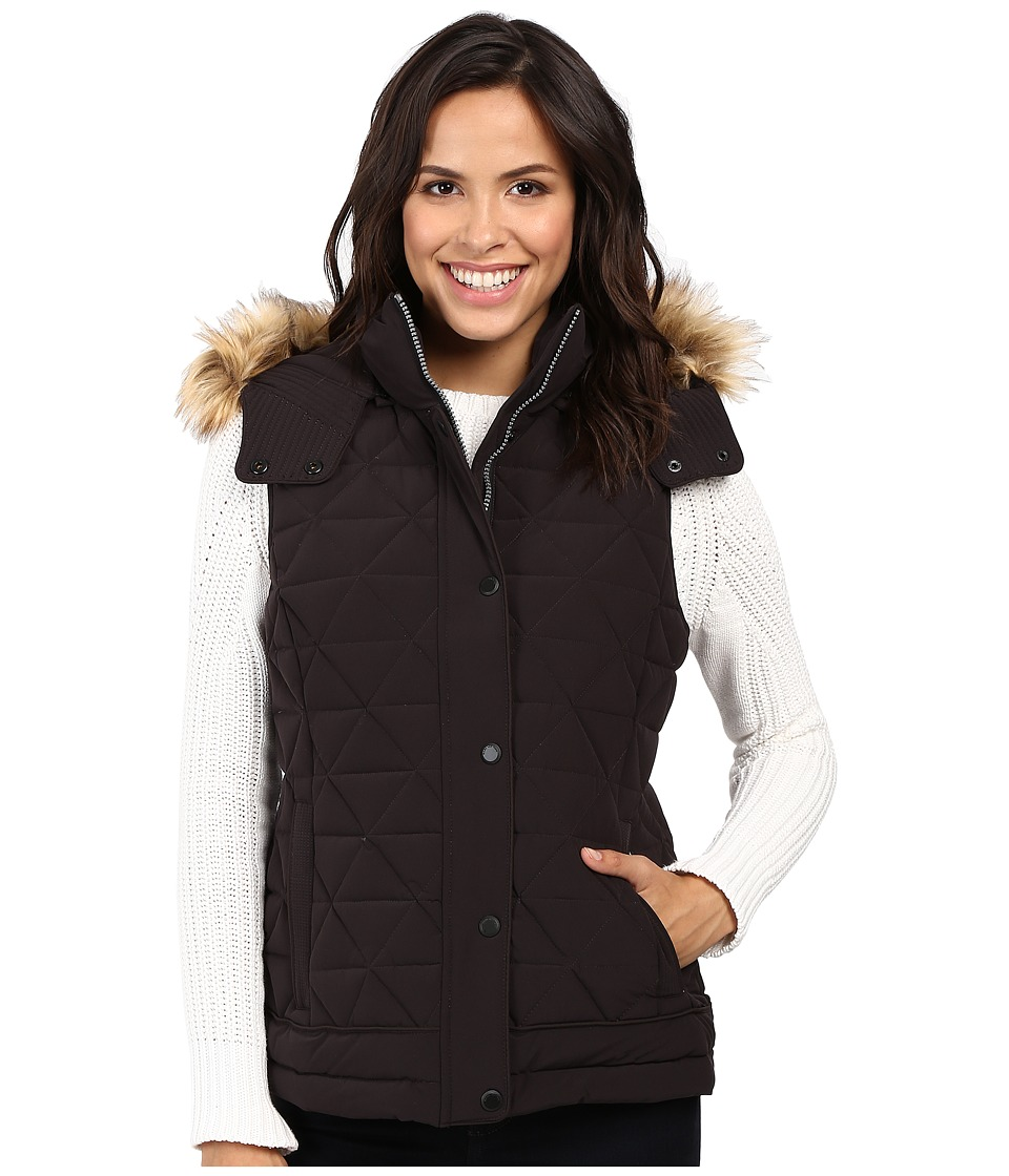 Marc New York by Andrew Marc - Thea 25 Pyramid Puffer Vest (Black) Women's Coat