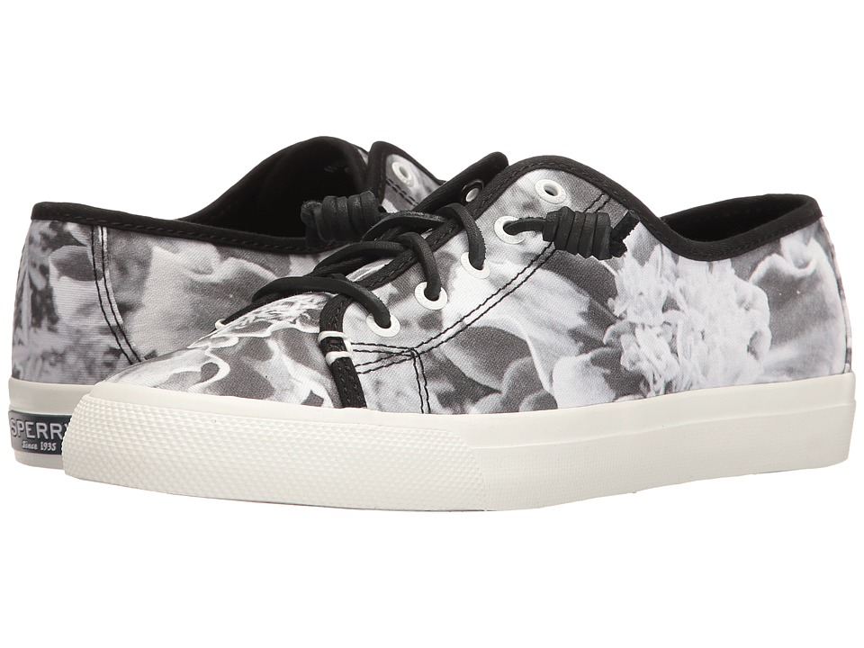 Sperry - Seacoast Floral X-Ray (Black/White) Women's Lace up casual Shoes