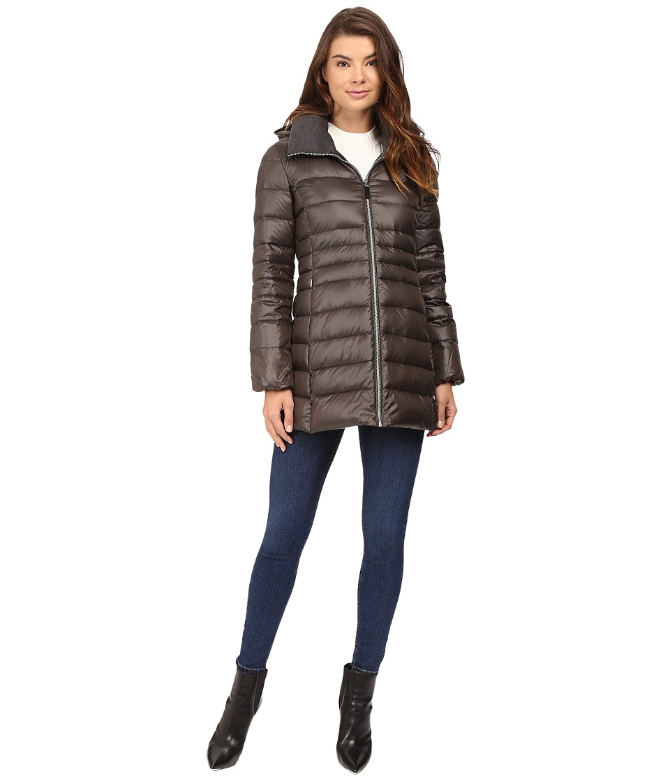 Marc New York by Andrew Marc - Erin Sweater Down Jacket (Olive) Women's Coat