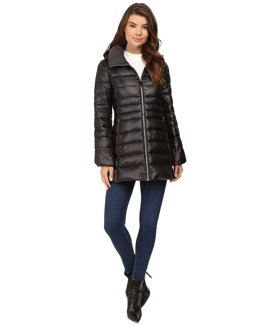 Marc New York by Andrew Marc - Erin Sweater Down Jacket (Black) Women's Coat