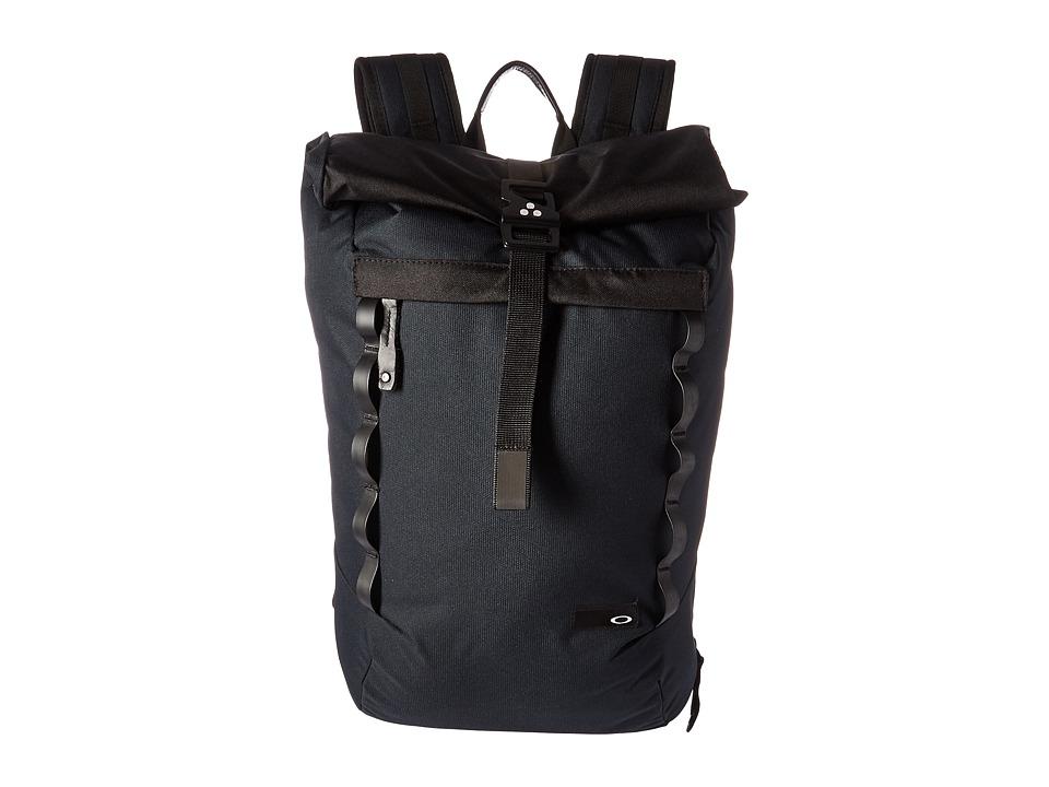 Oakley - Voyage 23L Rolltop Backpack (Blackout) Backpack Bags