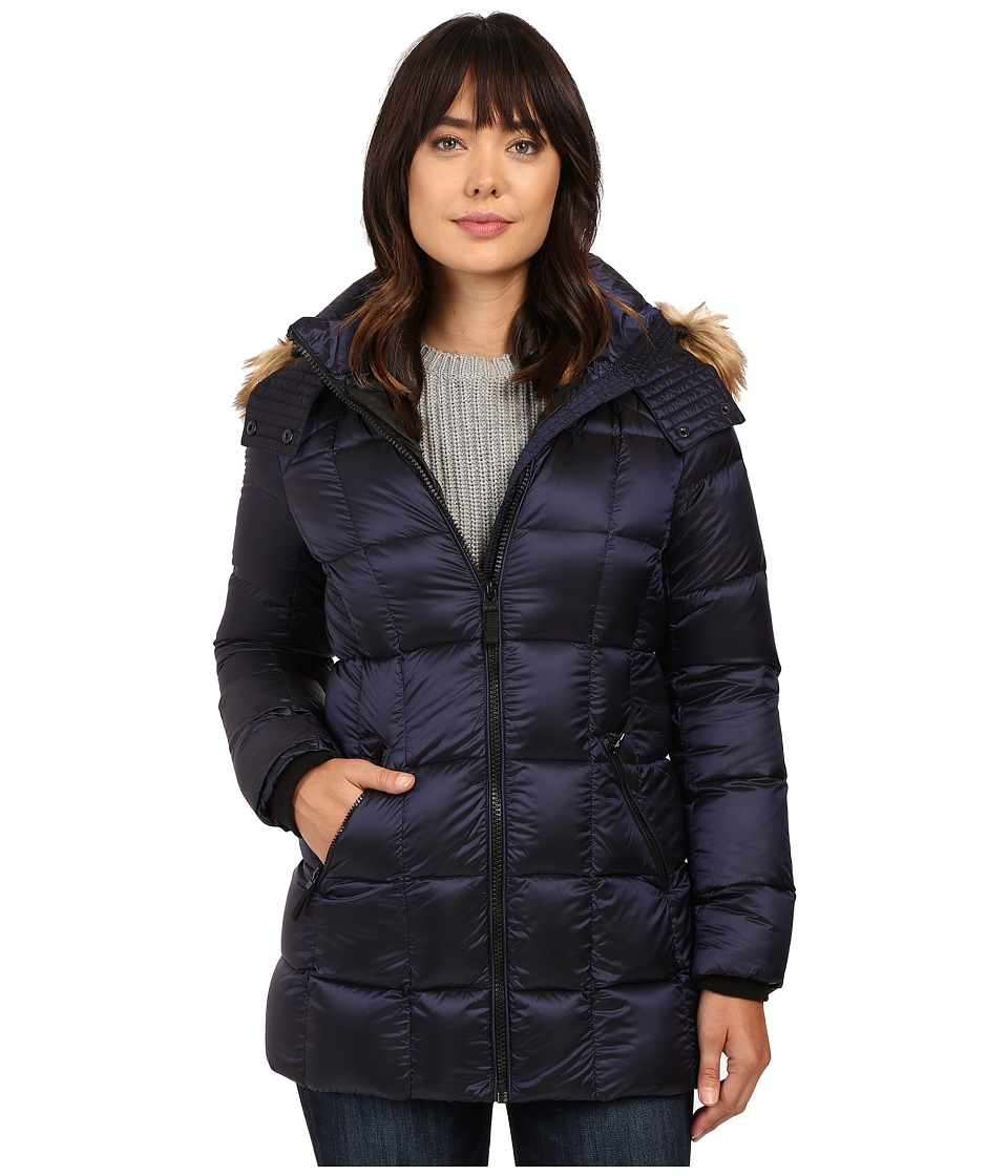 Marc New York by Andrew Marc - Maddy 30 Metallic Down Jacket (Royal Blue) Women's Coat