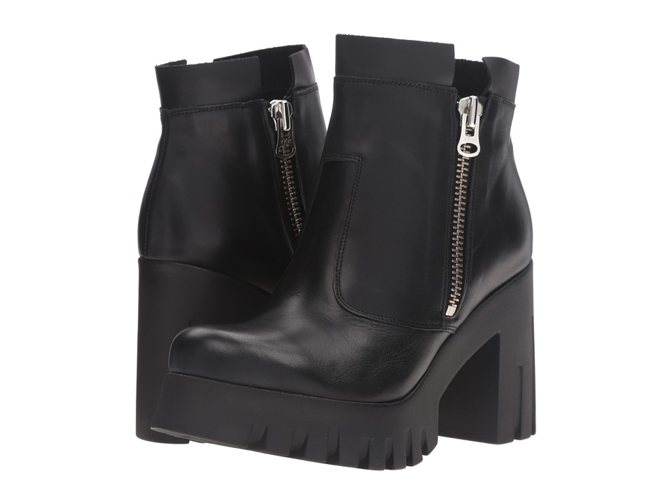 Shellys London - Kobi (Black) Women's Dress Zip Boots