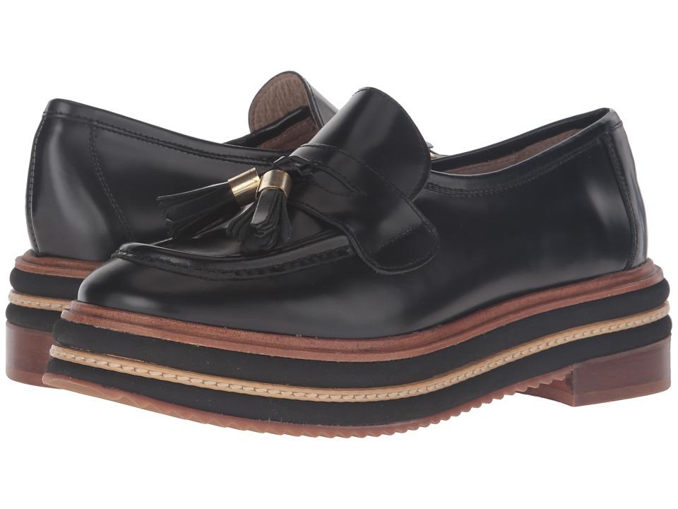Shellys London - Karena (Black) Women's Slip on Shoes