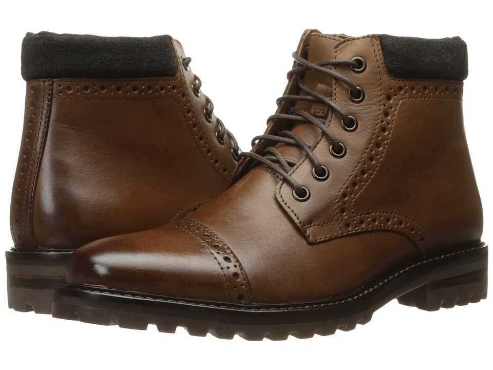 Mark Nason - Parker (Cognac Dress Leather) Men's Shoes