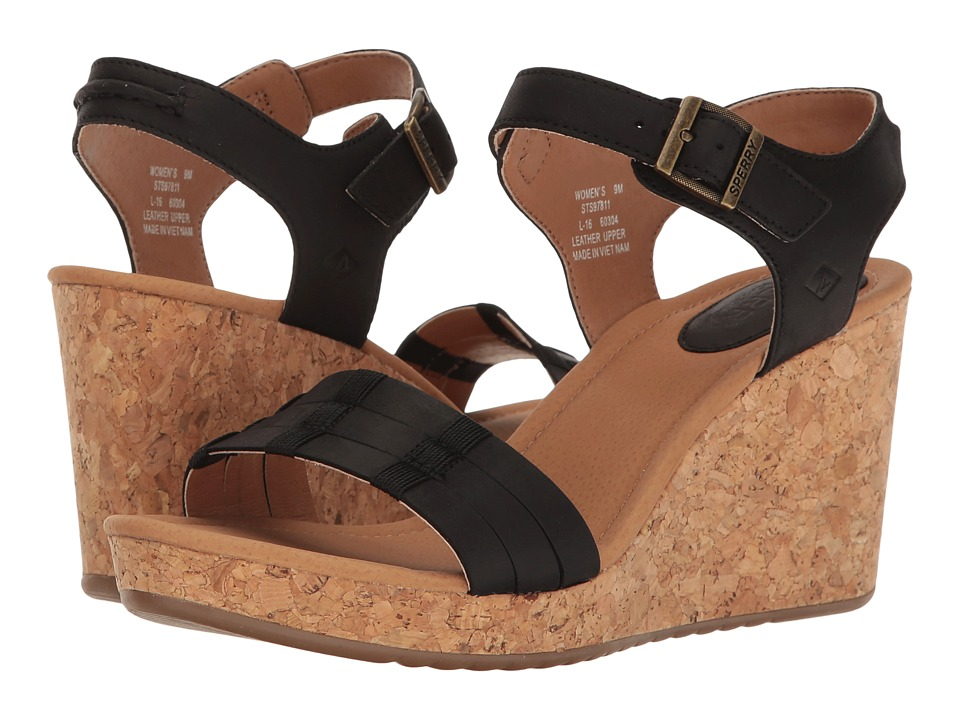 Sperry - Dawn Echo (Black) Women's Clog/Mule Shoes