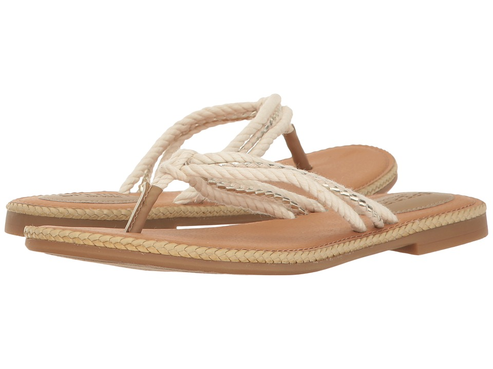 Sperry - Anchor Coy (Natural/Gold) Women's Sandals