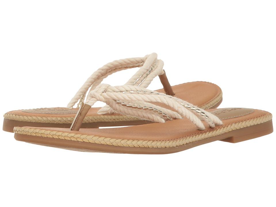 Sperry - Anchor Coy (Natural/Gold) Women's Sandals