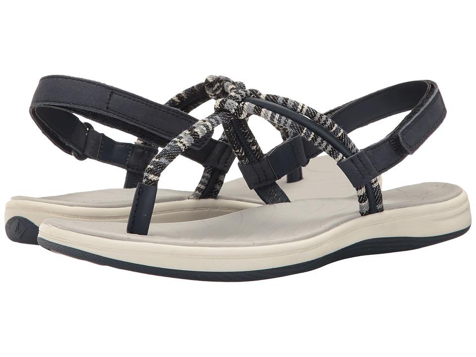 Sperry - Seabrook Elsie (Navy/Denim Stripe) Women's Sandals