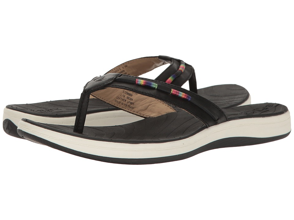 Sperry - Seabrook Wave Thread Wrap (Black) Women's Sandals