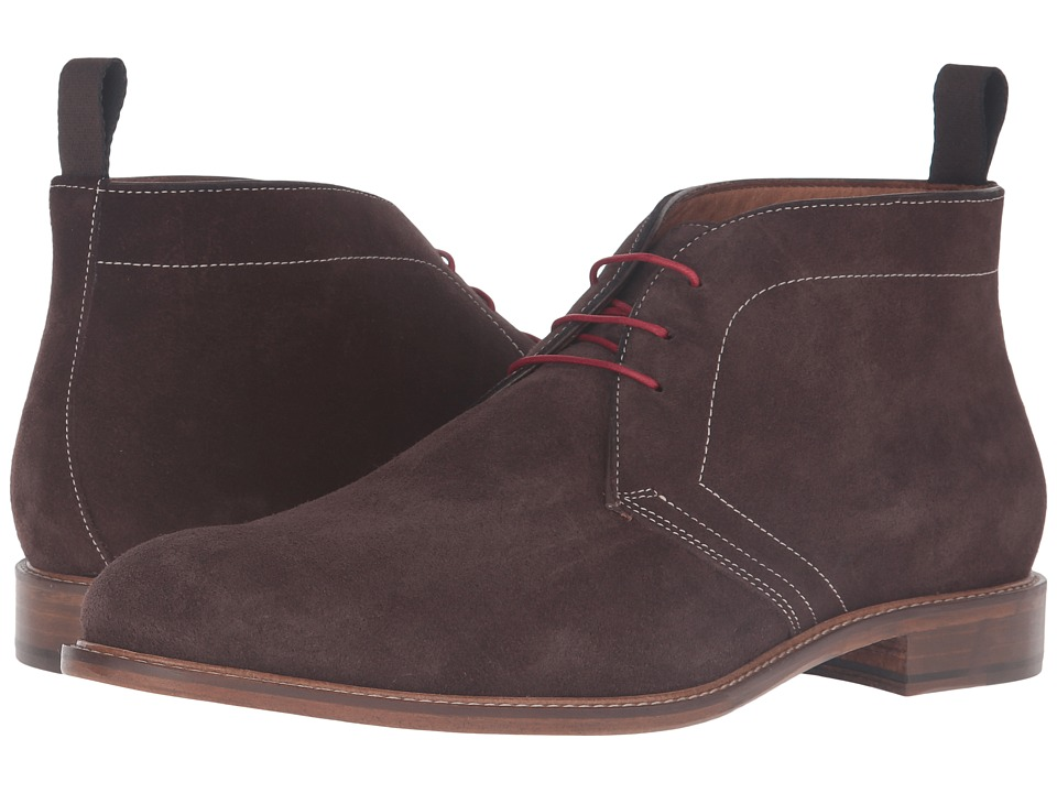Massimo Matteo - Suede Chukka (Brown Suede) Men's Shoes