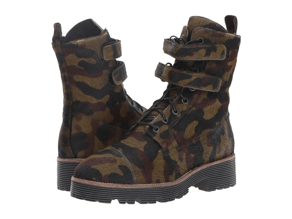 Shellys London - Tyra (Camo) Women's Lace-up Boots