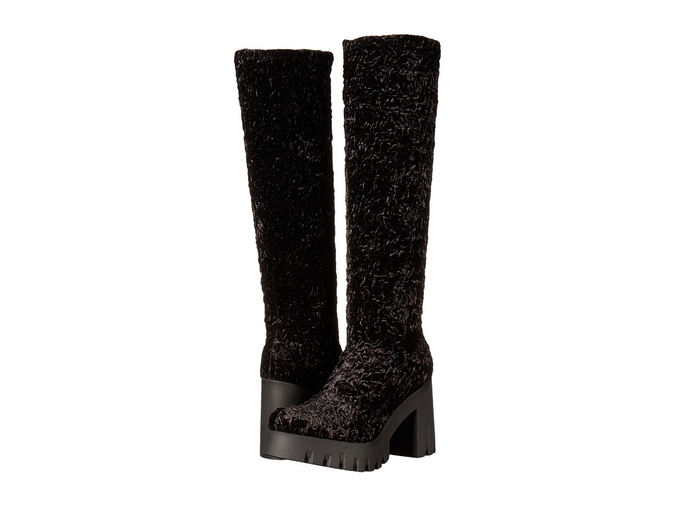 Shellys London - Kallie (Black Astrac) Women's Boots
