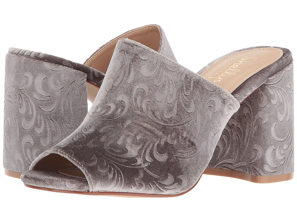 Shellys London Dalia (Grey Velvet) High Heels