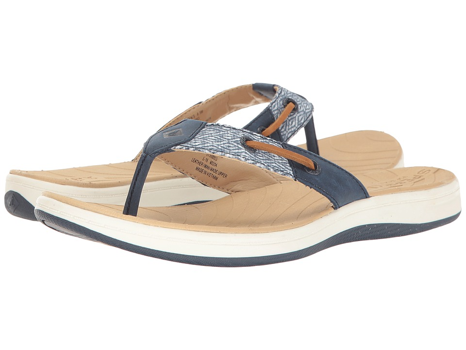 Sperry - Seabrook Surf Mesh (Navy) Women's Sandals