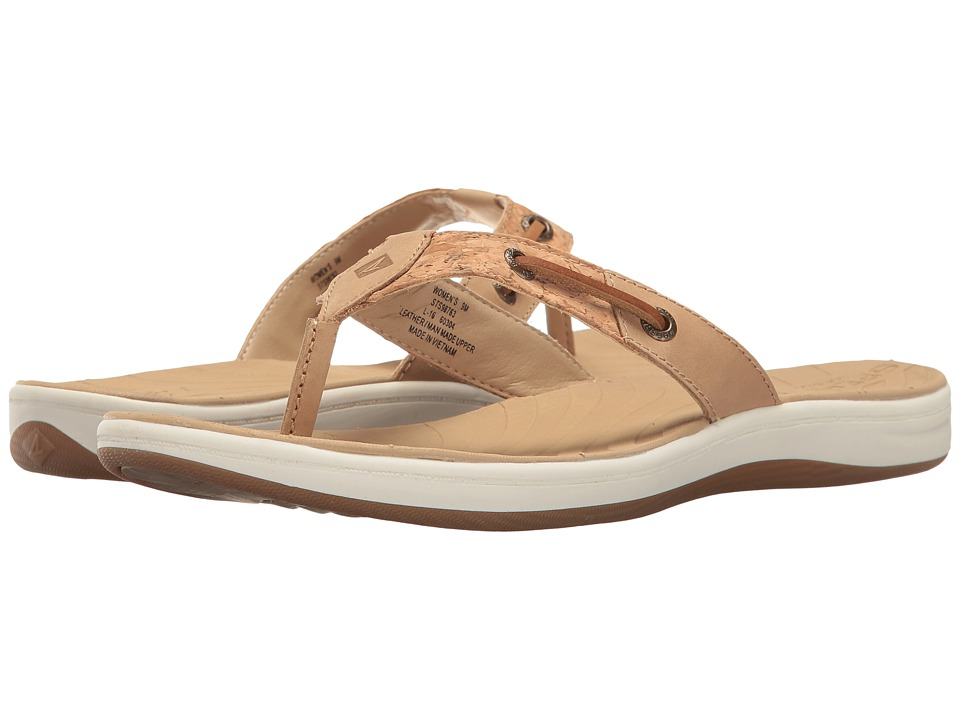 Sperry - Seabrook Surf Cork (Linen/Natural Cork) Women's Sandals