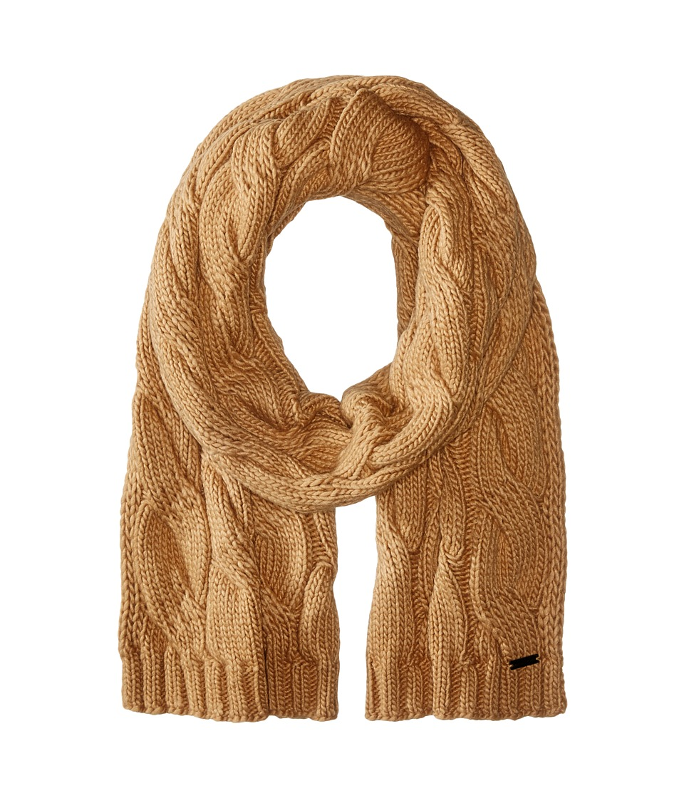 MICHAEL Michael Kors - Cable Muffler (Camel) Scarves