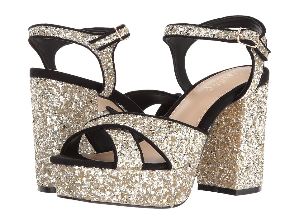 Shellys London - Annie (Gold Glitter) High Heels