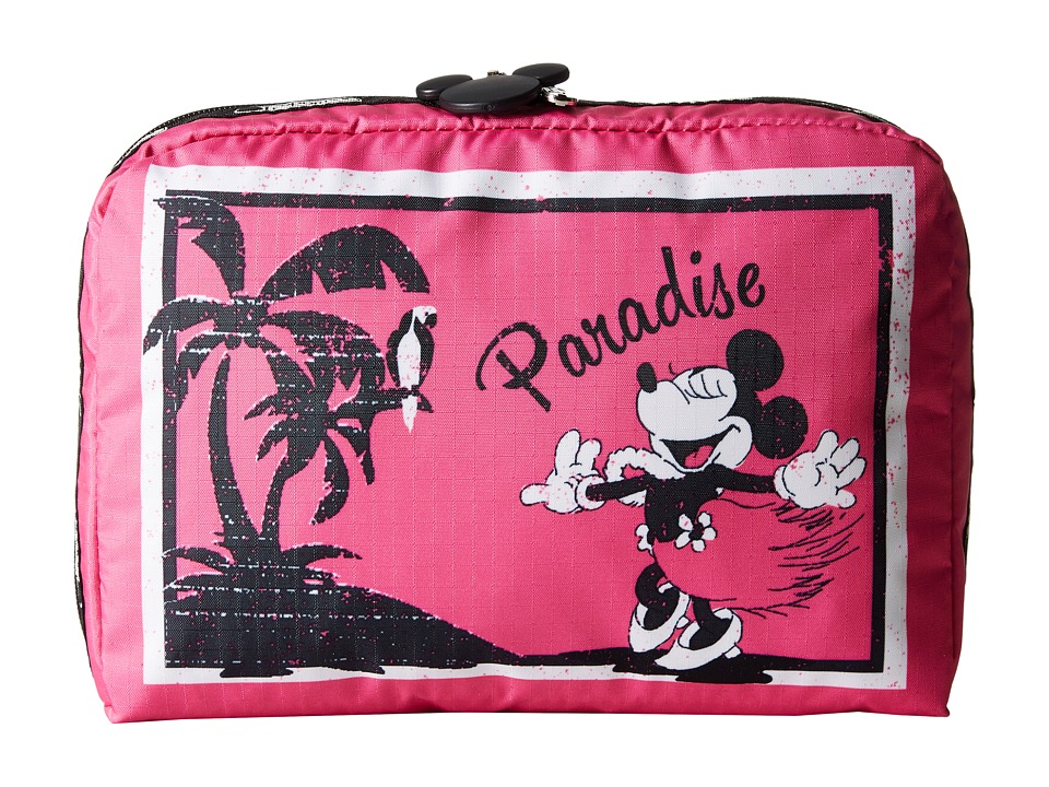 LeSportsac Luggage - Extra Large Rectangular Cosmetic Case (Minnie's Paradise) Cosmetic Case