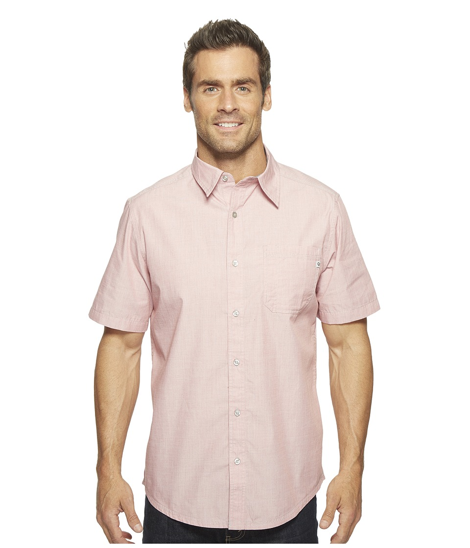 Marmot - Dorset Short Sleeve (Retro Red) Men's Short Sleeve Button Up