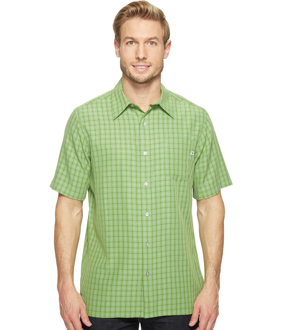 Marmot - Eldridge S/S (Field Green) Men's Short Sleeve Button Up