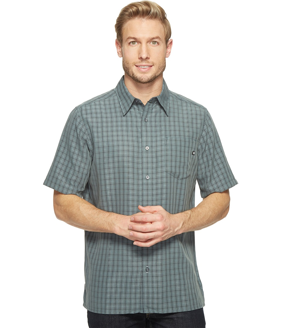 Marmot - Eldridge S/S (Dark Zinc) Men's Short Sleeve Button Up