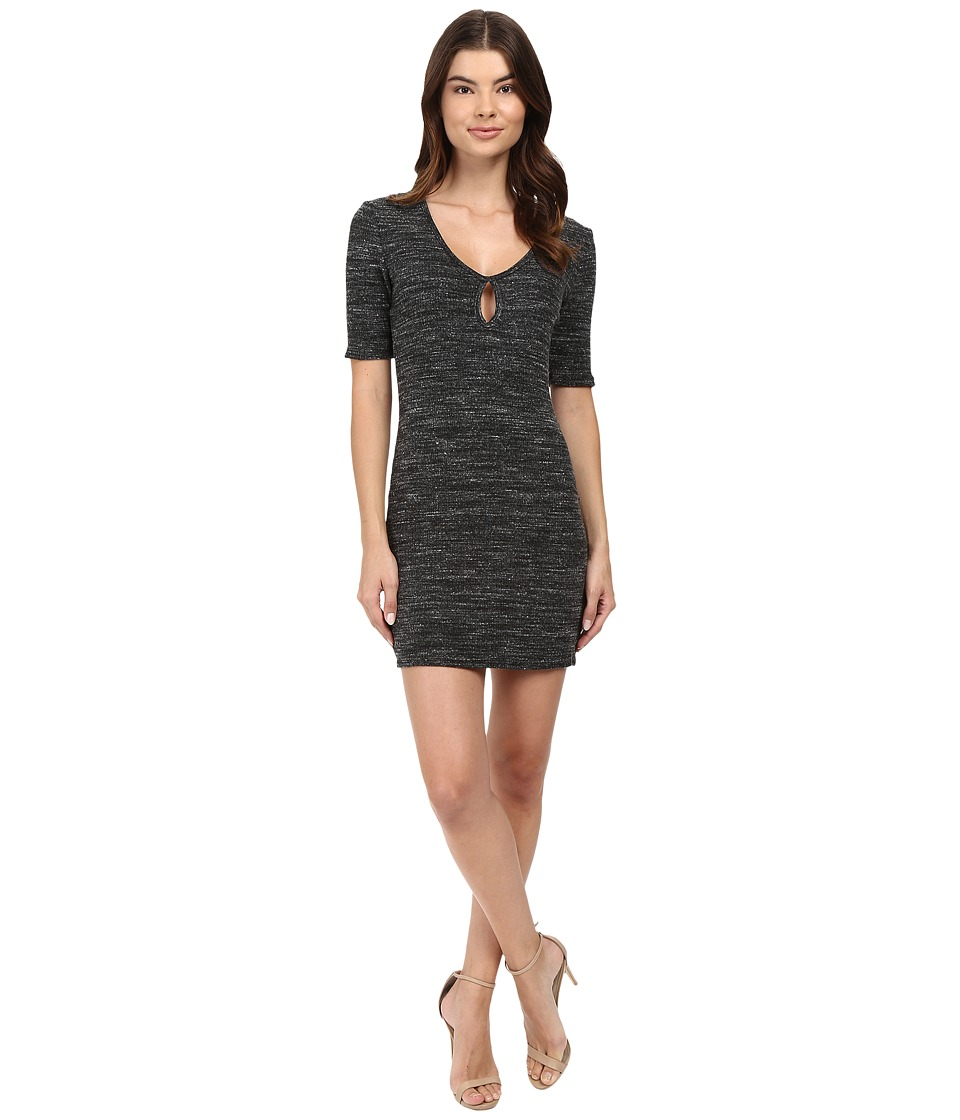 Project Social T - Ava Keyhole Mini Dress (Marble) Women's Dress