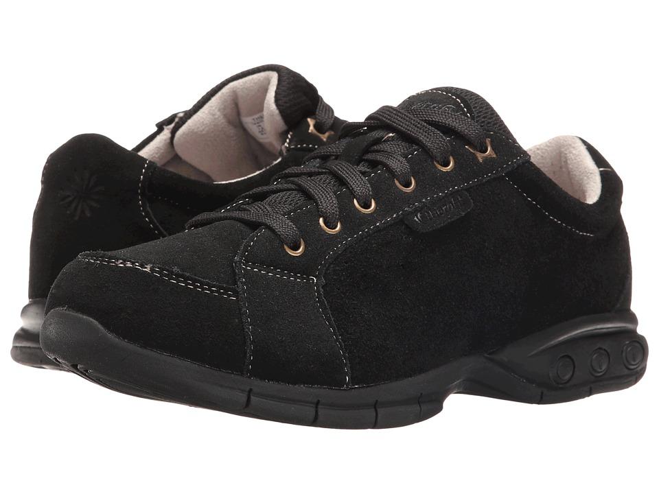 THERAFIT - Gina (Black) Women's Flat Shoes
