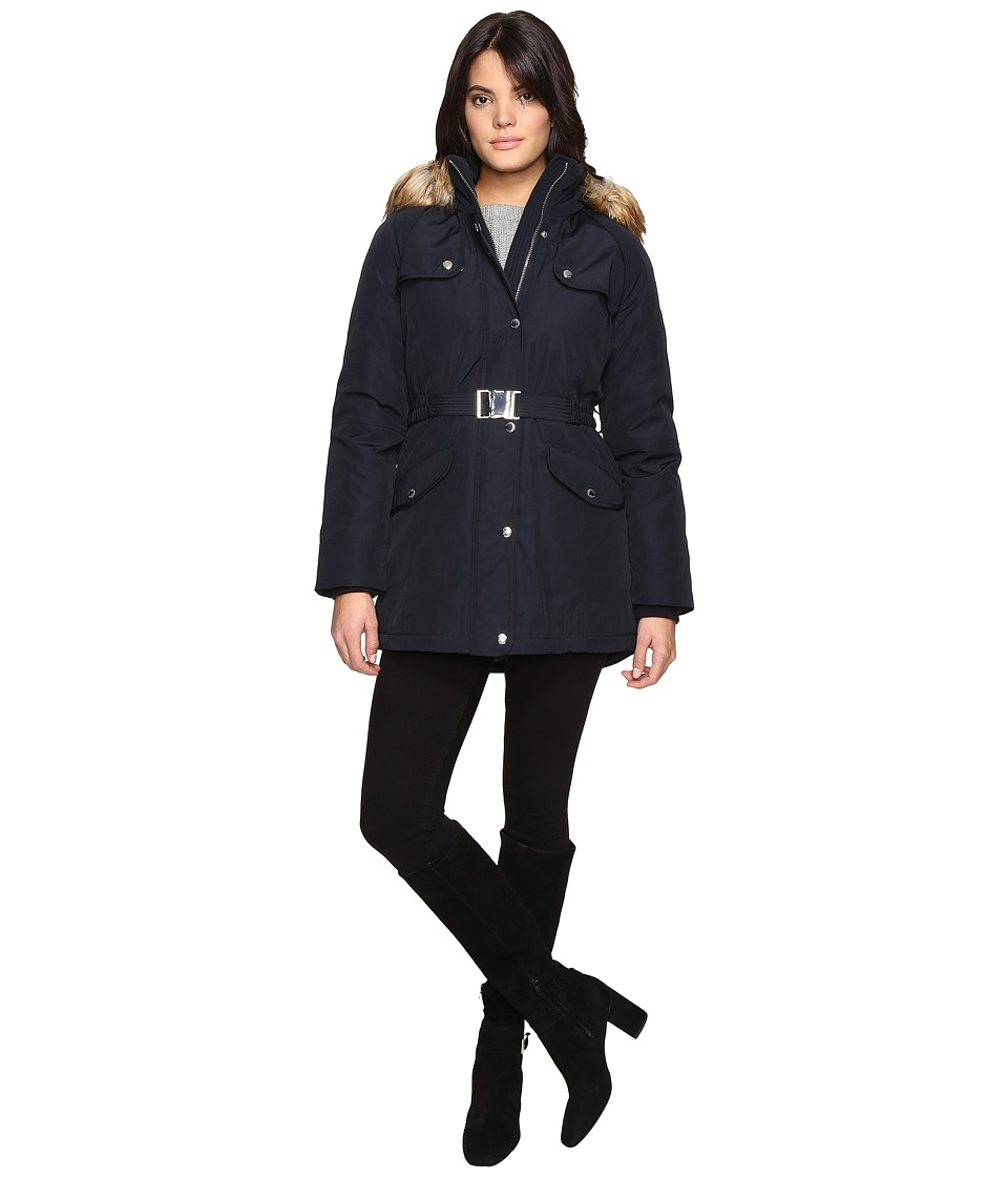 MICHAEL Michael Kors - Down Jacket M822202T (Navy) Women's Coat