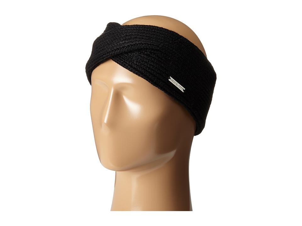 MICHAEL Michael Kors - Twisted Headband (Black) Headband