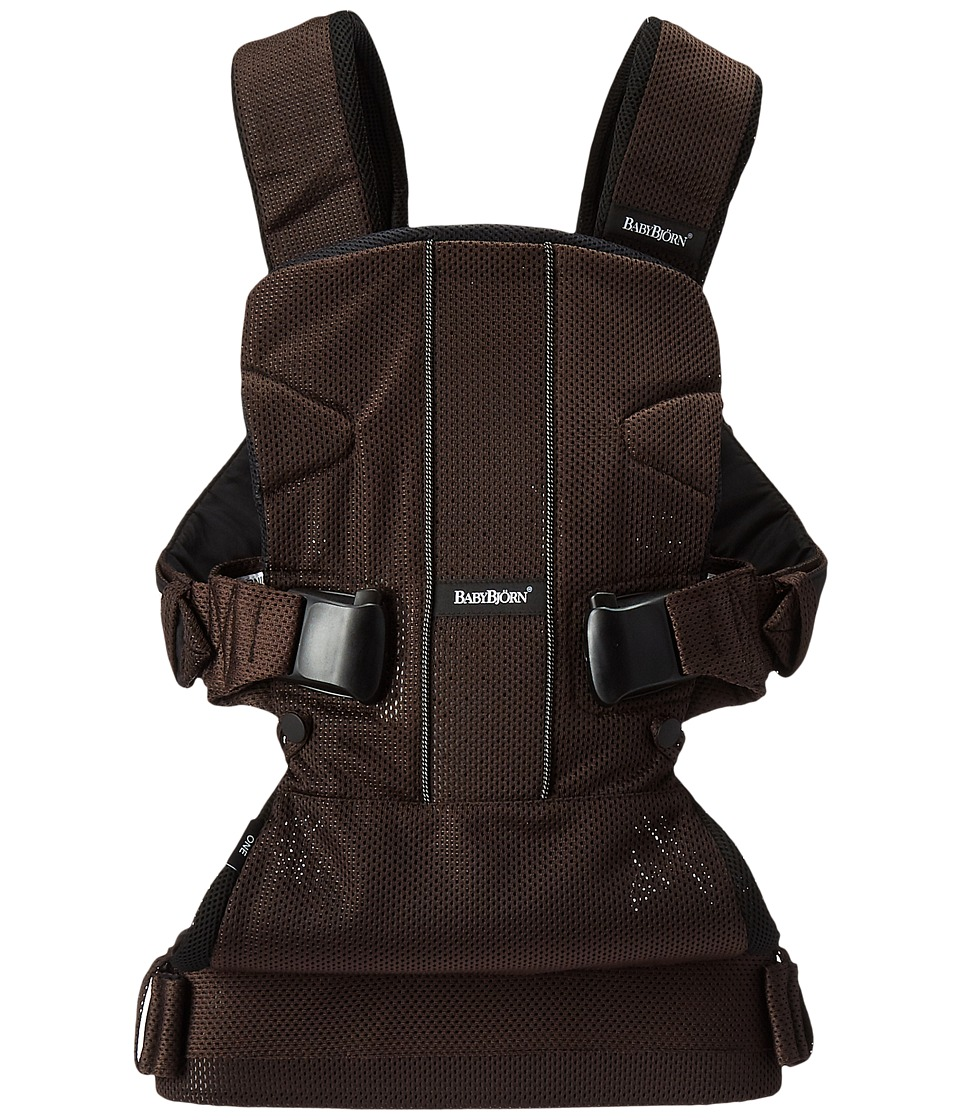 BabyBjorn - Baby Carrier One Air (Brown/Black Mesh) Carriers Travel
