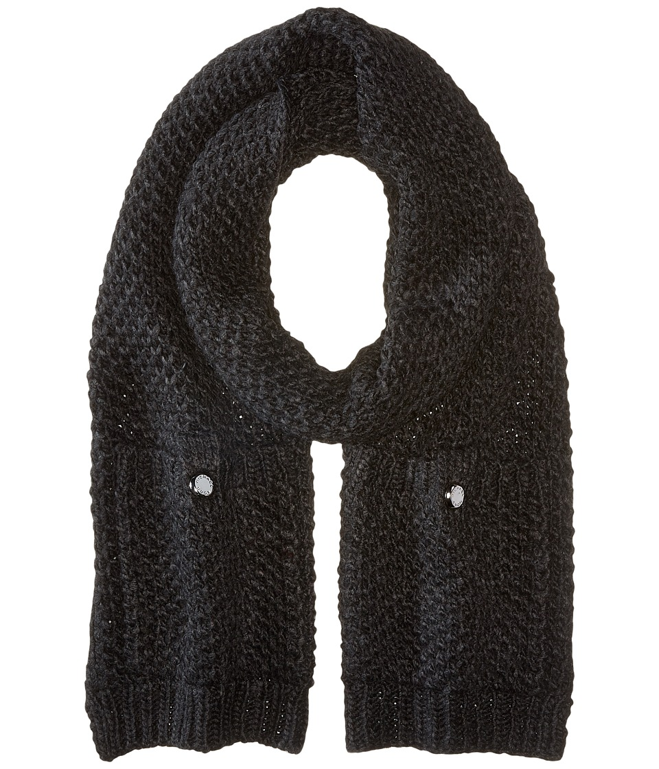 MICHAEL Michael Kors - Tuck Stitch Muffler (Derby) Scarves