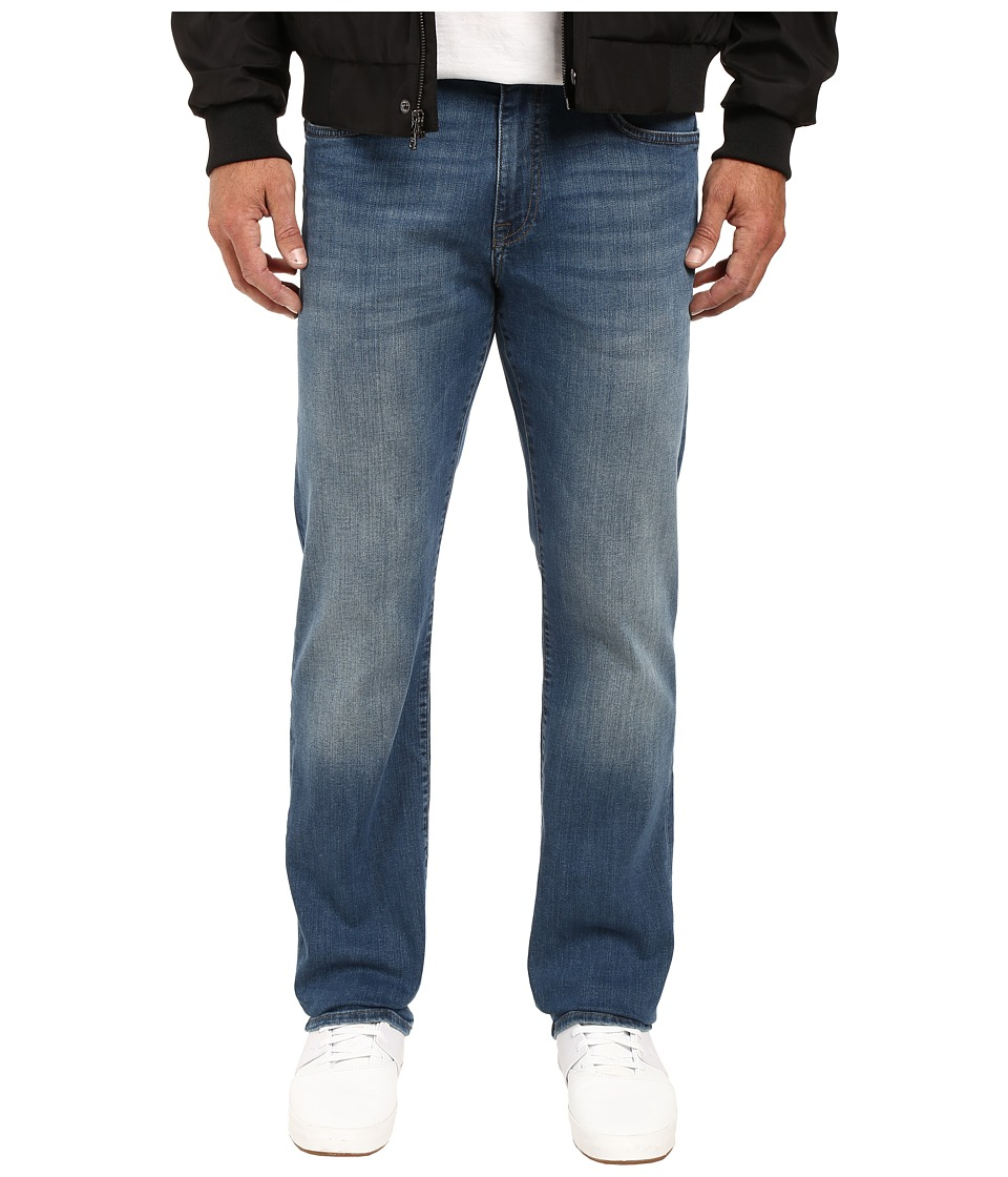 Mavi Jeans - Myles Casual Straight in Mid Shaded Williamsburg (Mid Shaded Williamsburg) Men's Jeans