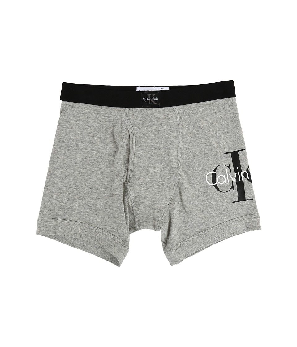 Calvin Klein Underwear - CK Origins Boxer Brief (Heather Grey) Men's Underwear