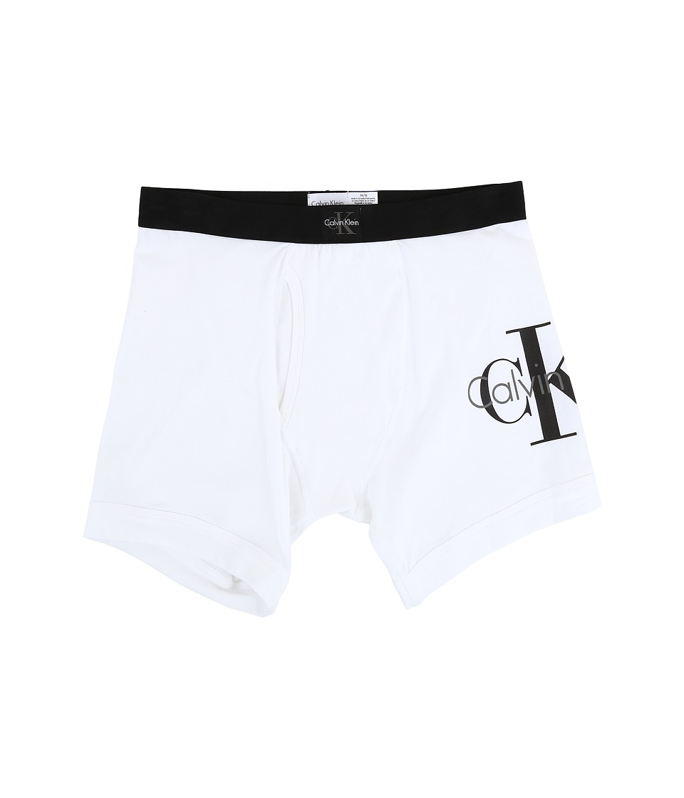 Calvin Klein Underwear - CK Origins Boxer Brief (White) Men's Underwear