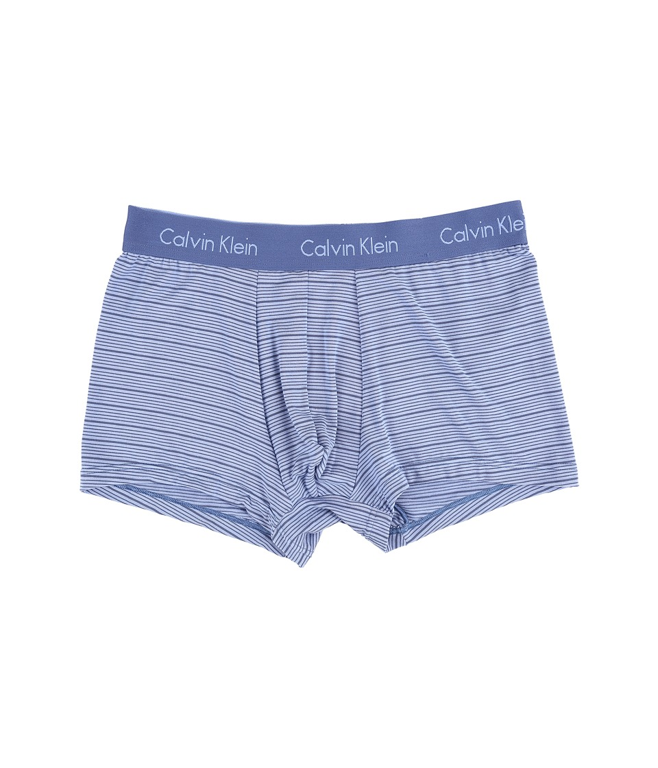 Calvin Klein Underwear - Body Modal Trunk (Casper Blue/Star Ferry Stripe) Men's Underwear