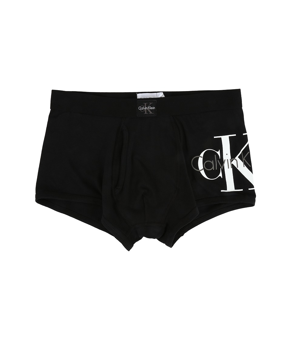 Calvin Klein Underwear - CK Origins Low Rise Trunk (Black) Men's Underwear