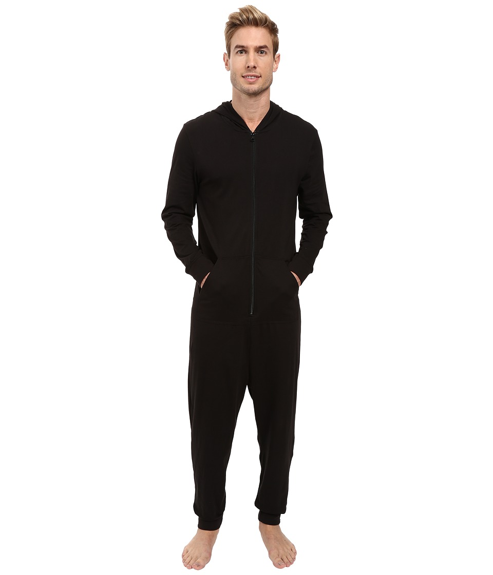 Calvin Klein Underwear - CK Origins One-Piece (Black) Men's Jumpsuit & Rompers One Piece