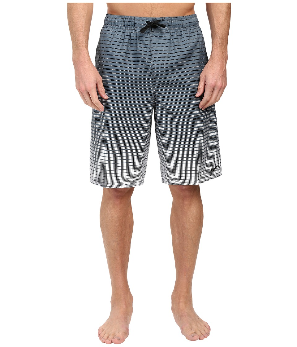 Nike - Continuum 11 Volley Shorts (Blue Graphite) Men's Swimwear